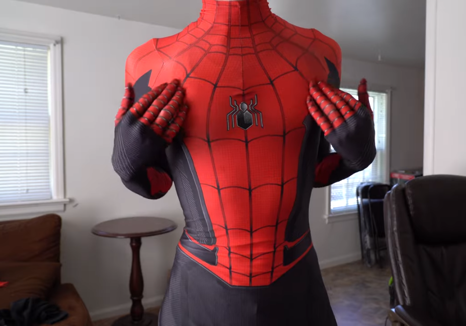 replica Spiderman suit