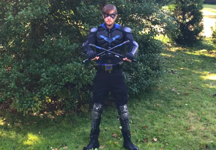 night wing cosplay costume