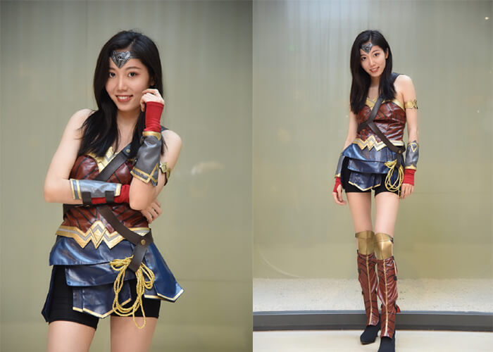 cosplay wonder women