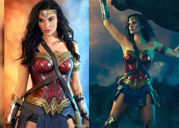 try to cosplay wonder women